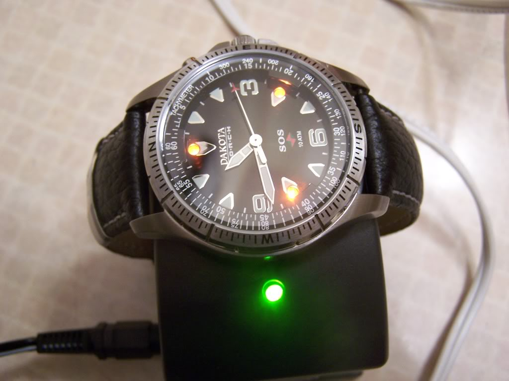 Rechargeable watches Zodanddak001