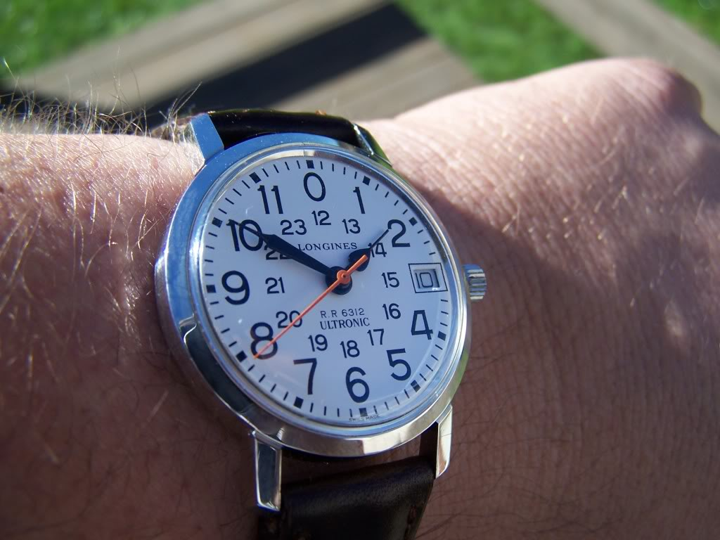 Just back from service, Longines Ultronic Railroad Approved  100_9980