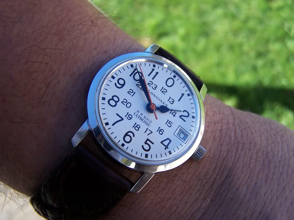 Just back from service, Longines Ultronic Railroad Approved  100_9981