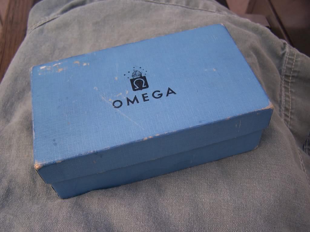 1956 Omega Bumper Seamaster Date   100_9770