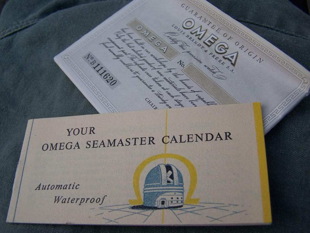 1956 Omega Bumper Seamaster Date   100_9776