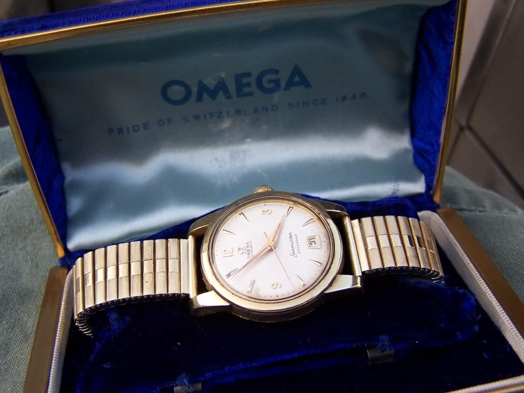1956 Omega Bumper Seamaster Date   100_9777