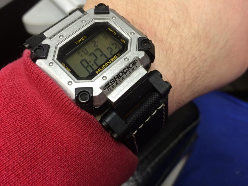 90's Timex Humvee....Life with a 75 cent watch. 407535E7-0A64-4F37-8DC6-A5A44BD96935_zpsqz2wha7g
