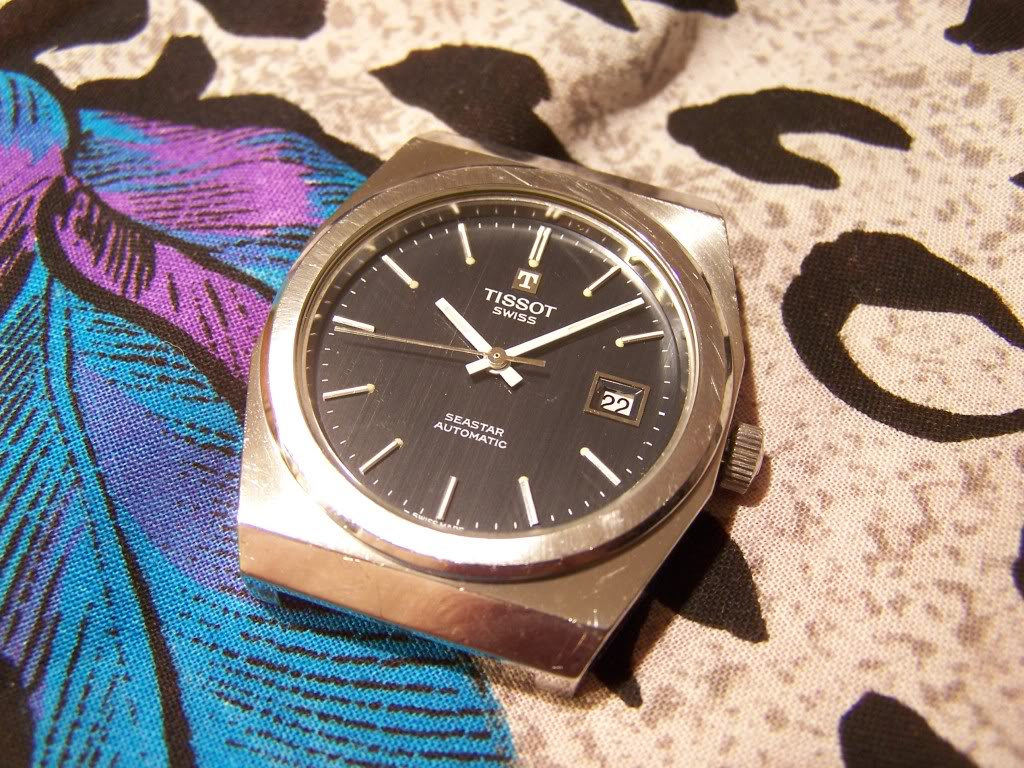 Vintage 70's Tissot Seastar TissotSS70018