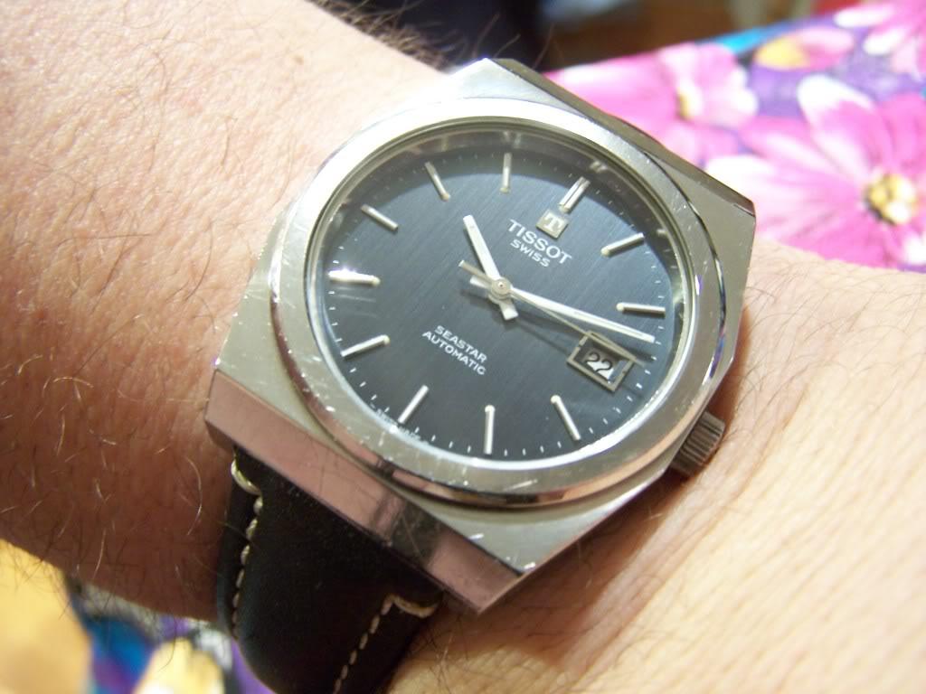 Vintage 70's Tissot Seastar TissotSS70023