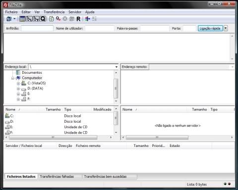 FileZilla 3.3.4.1 - Windows  Filezilla