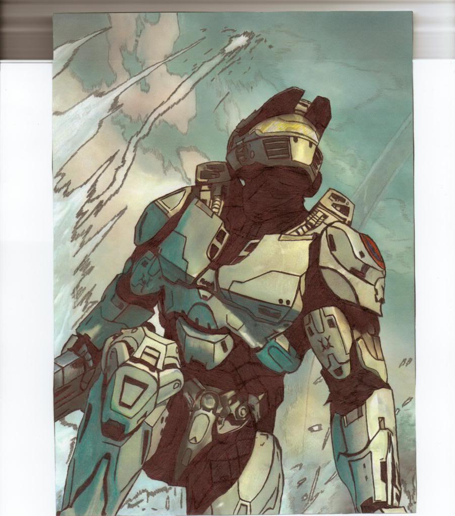 Arucard's Artwork  HaloWarsSpartan-1