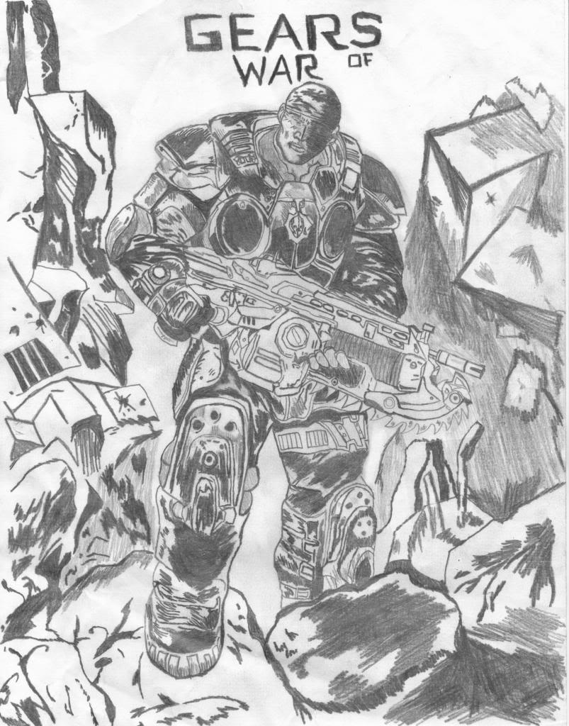 Arucard's Artwork  MarcusFenixSketch-1