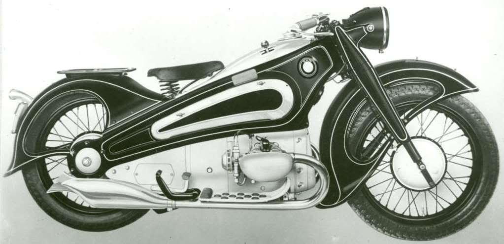 Superbes motos, superbe site : BMWR7