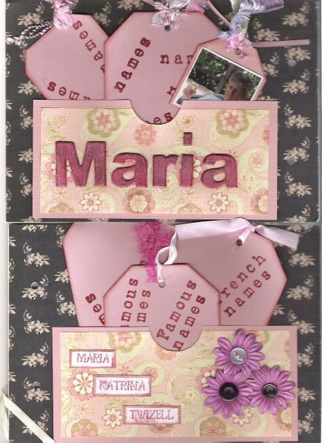 Cath's CJ  - What's In A Name MariasPages
