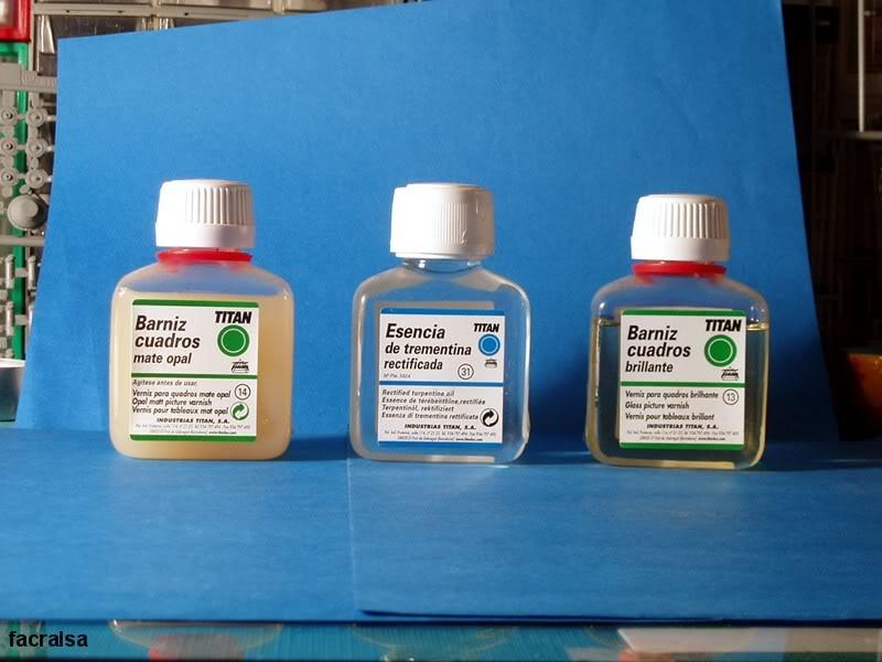 Barnices, Disolventes y Otros productos. Barniz01