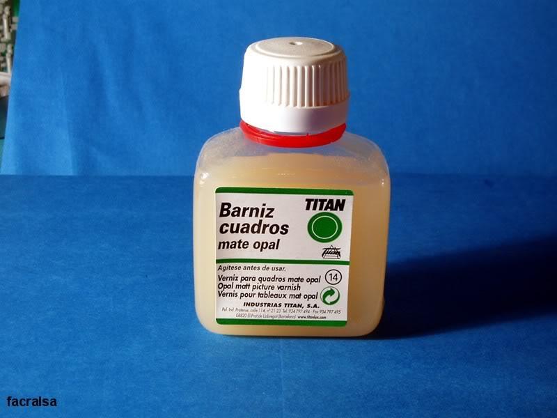 Barnices, Disolventes y Otros productos. Barniz02