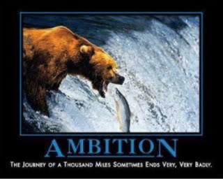 Posters Motivacionales. Ambition