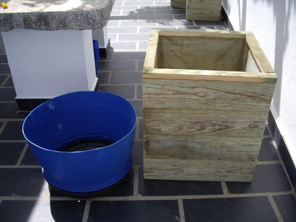 Jardineras de madera. IMGP1164