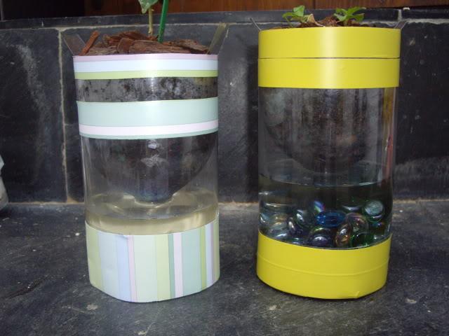 Macetas autorregables con botellas de plástico IMGP2484