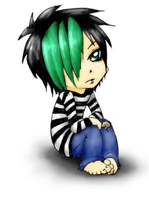 Look or die!!! evil LOL Emo_Kid_color_variant_02_by_sabisao