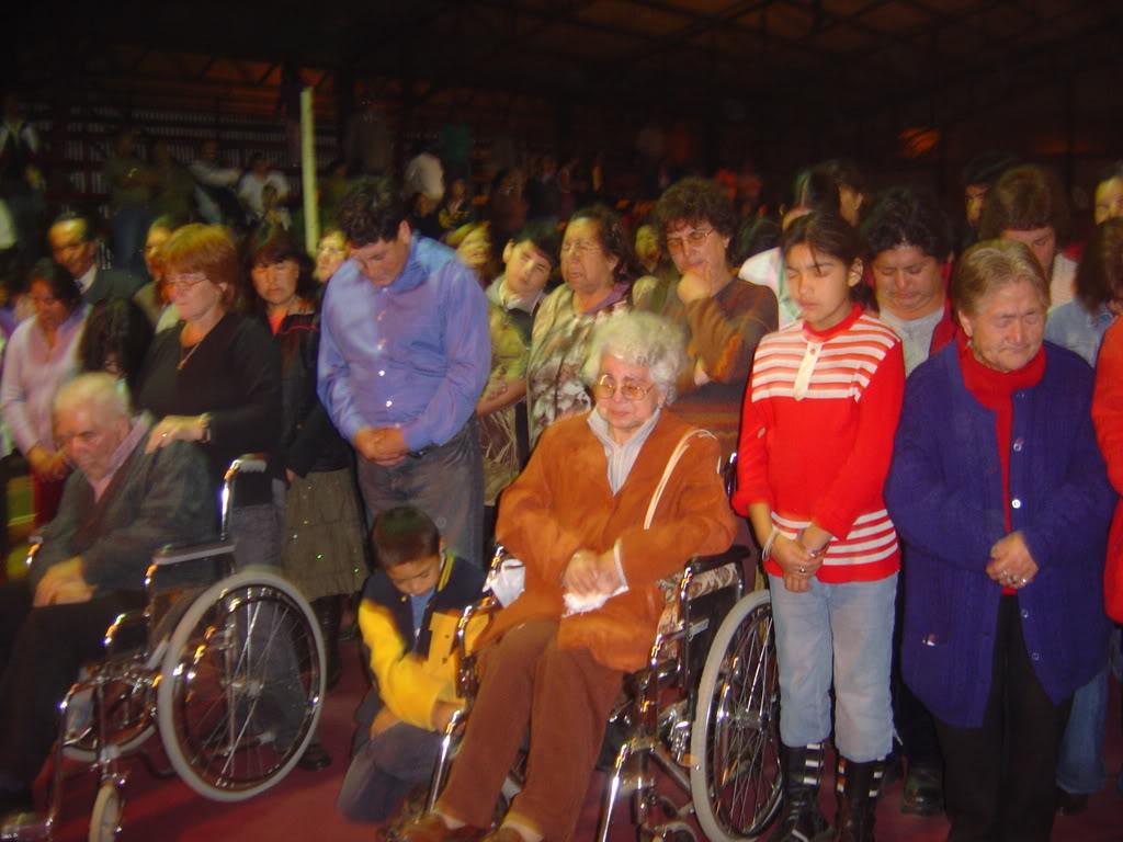 ¡Campaña Misionera donde se ganó a más 200 personas! Silla
