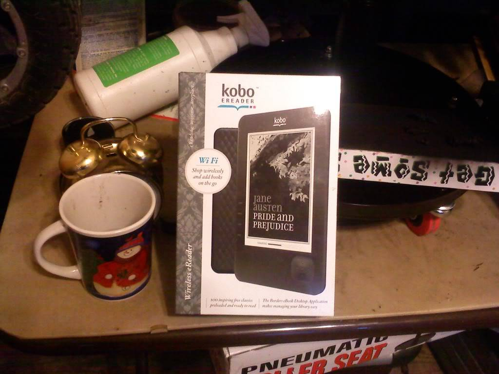kobo 1Gb e-reader (Wi-Fi) FS SOLD!! 0630011952