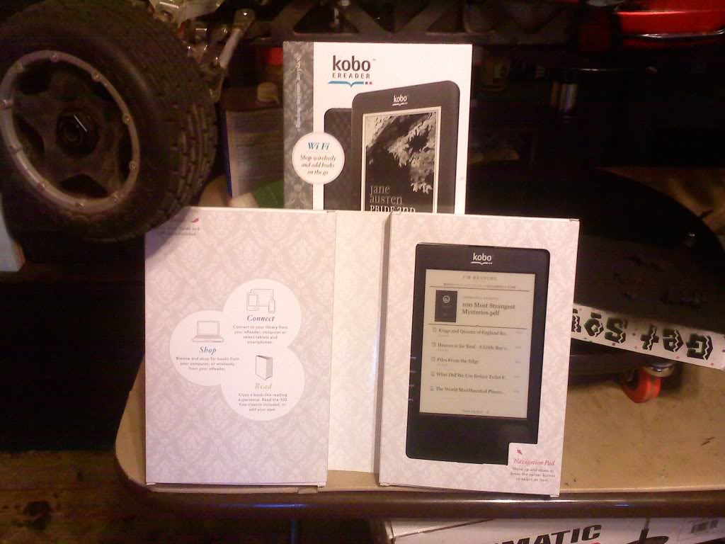 kobo 1Gb e-reader (Wi-Fi) FS SOLD!! 0630011953