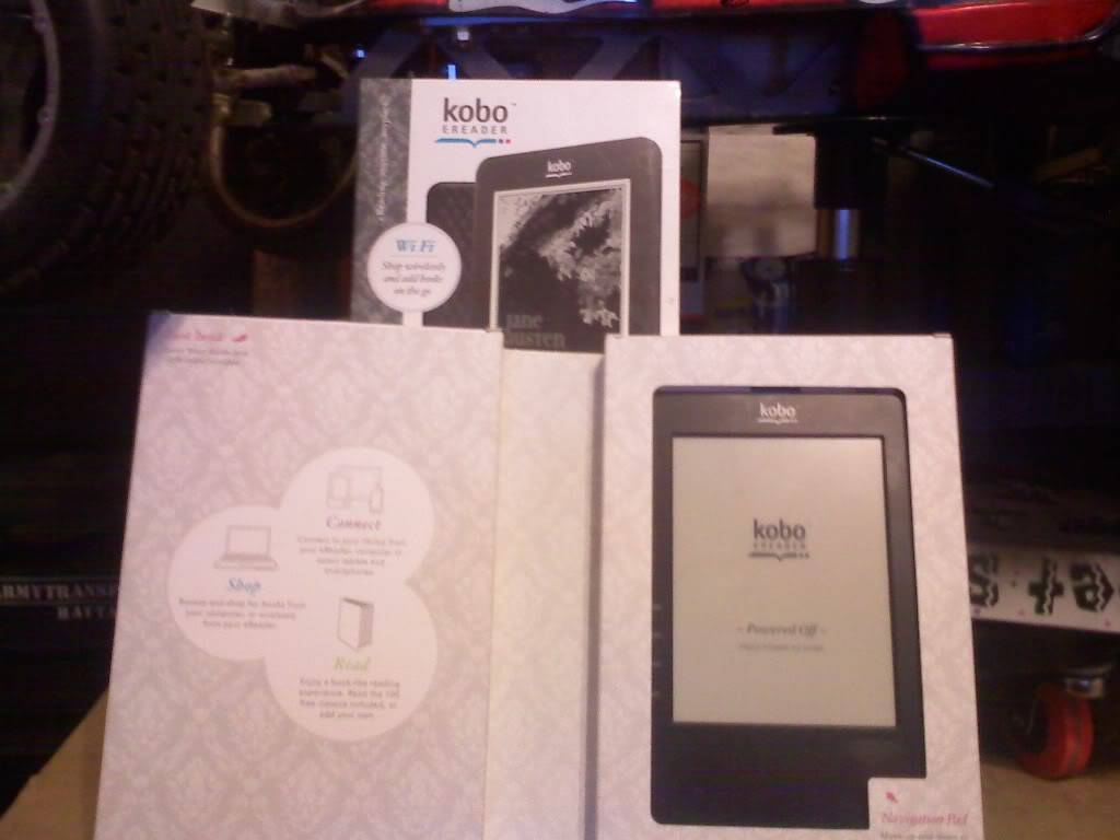 kobo 1Gb e-reader (Wi-Fi) FS SOLD!! 0630011954