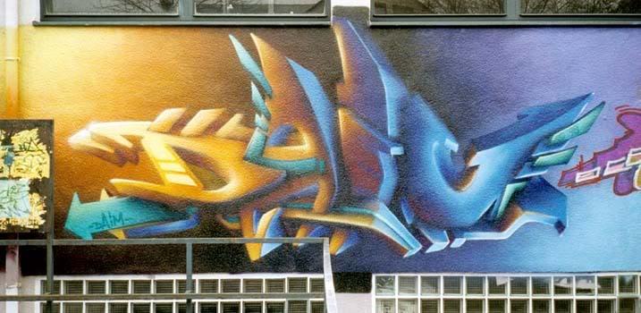 Nghệ thuật Graffiti Daim022574755