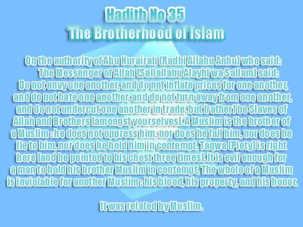 The Forty Nawawi Hadith - Page 2 Had35