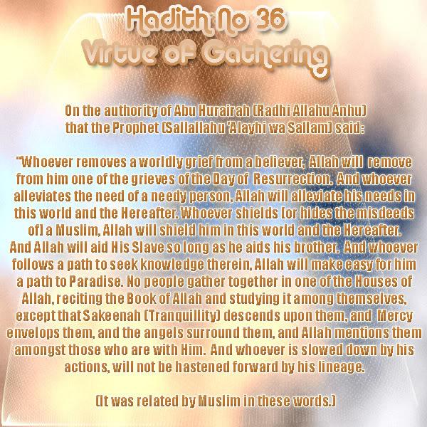 The Forty Nawawi Hadith - Page 2 Had36