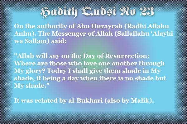 The Forty Qudsi Hadith - Page 2 Qud23