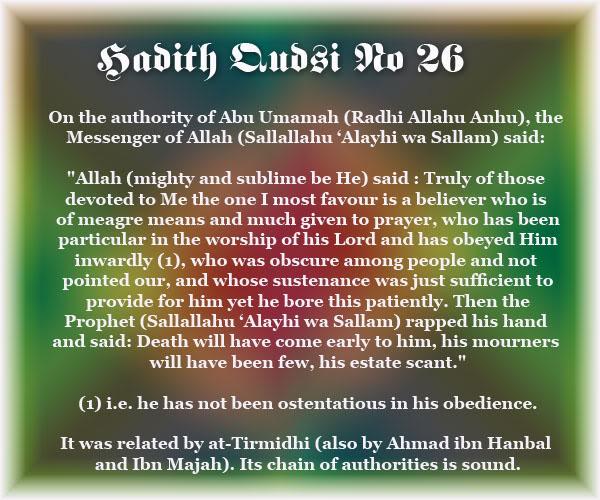 The Forty Qudsi Hadith - Page 2 Qud26