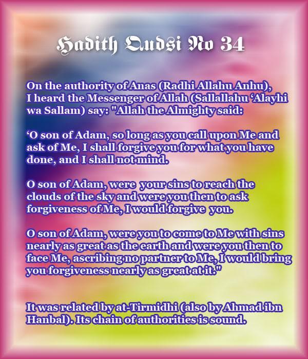 The Forty Qudsi Hadith - Page 2 Qud34