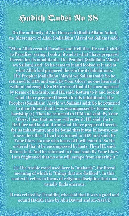 The Forty Qudsi Hadith - Page 2 Qud38