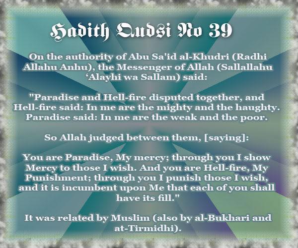 The Forty Qudsi Hadith - Page 2 Qud39