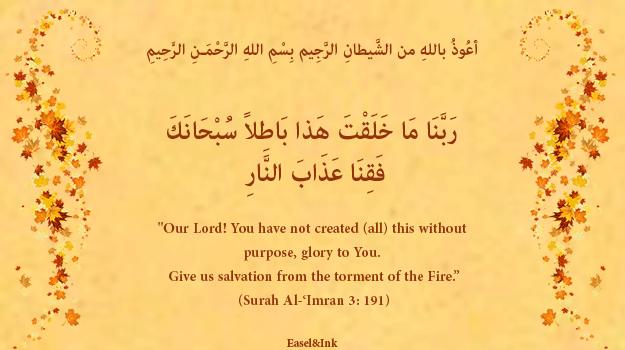 Duas from the Qur'an 19