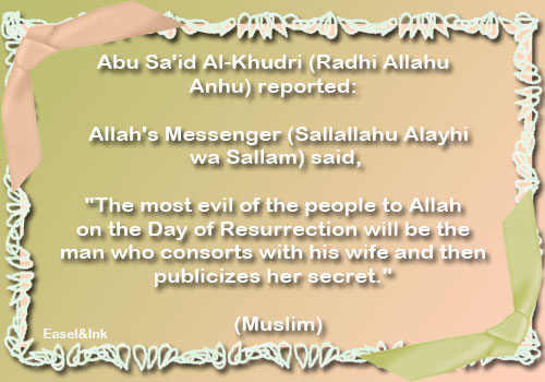 Hadith Graphics - Page 8 Mostevil