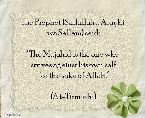 Hadith Graphics - Page 4 Mujahid