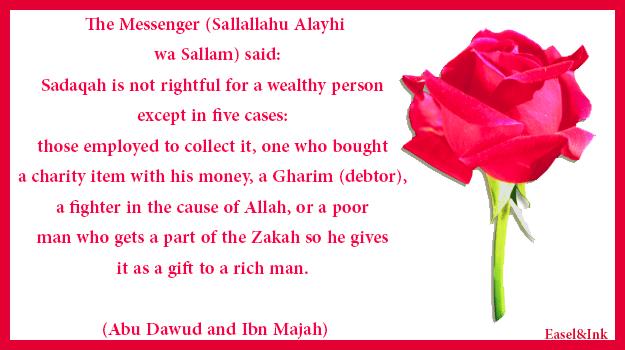 Fiqh of Zakat Notrightful