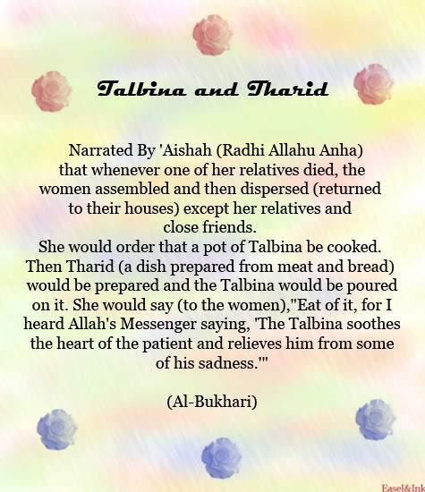 Talbina and Tharid Talbina