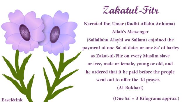 Fiqh of Zakat Zakatul-fitr