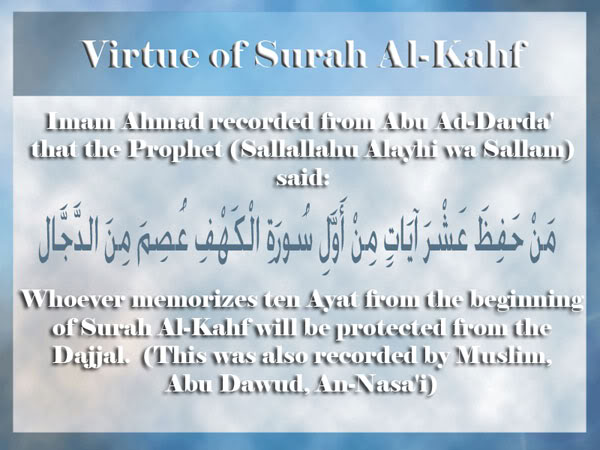 Hadith on Virtues of Surah and Ayah Virtues18a