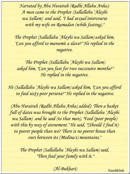 Ahadith on Ramadan and Fasting - Page 2 Ramadan23br
