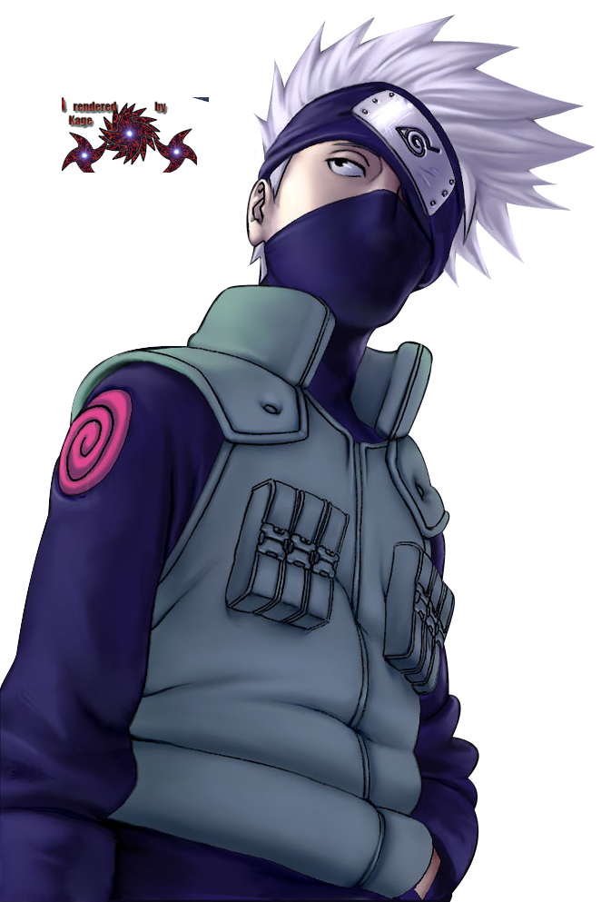 Renders de Naruto Kakashikacool