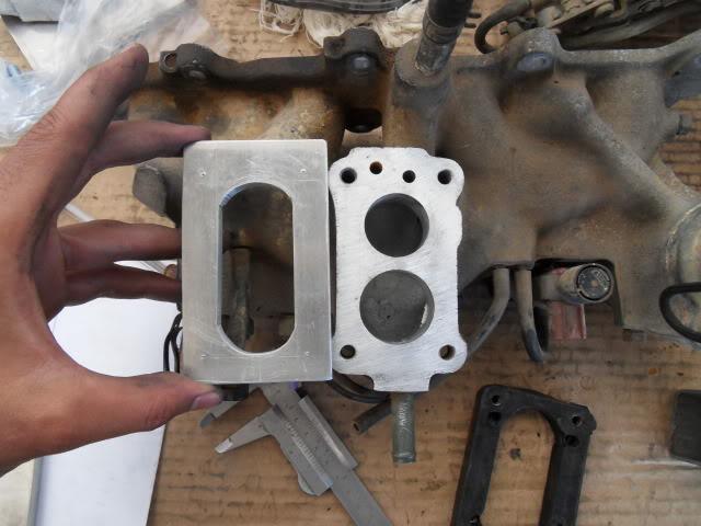 Adaptar carburador Weber (Fiat Tipo 1.4) SDC16550