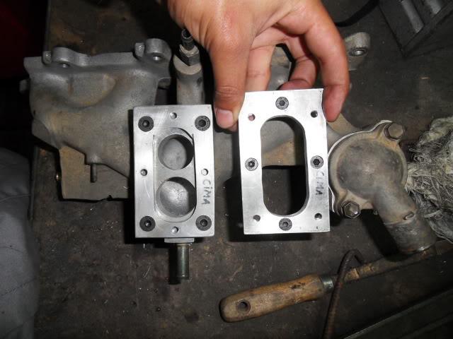 Adaptar carburador Weber (Fiat Tipo 1.4) SDC16576