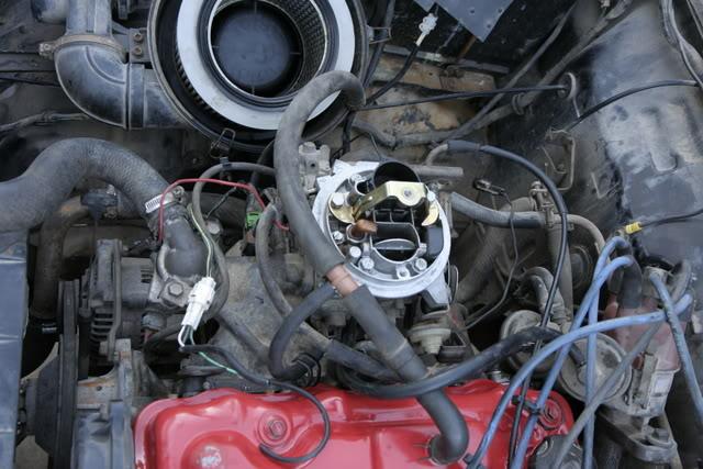 Adaptar carburador Weber (Fiat Tipo 1.4) _MG_3626