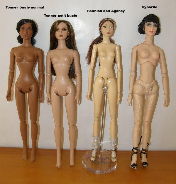 Comparaisons corps fashion dolls: images & liens Comparaison40cm03