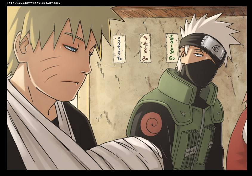 Cool anime Wallpapers !!!!!!! KakashiAndNaruto
