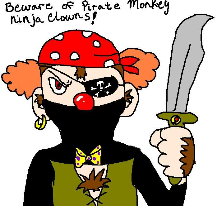 Ask Chrisseh Piratemonkeyninjaclown