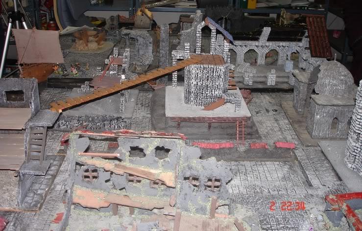 Dwalthrim's smithy - my table and terrain Kochozkomo