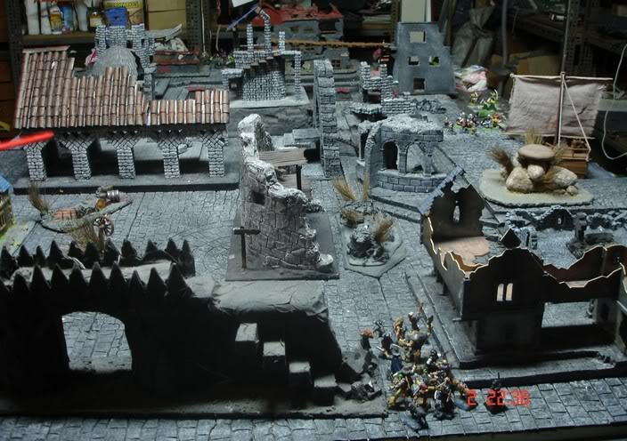 Dwalthrim's smithy - my table and terrain Kochozkomo2