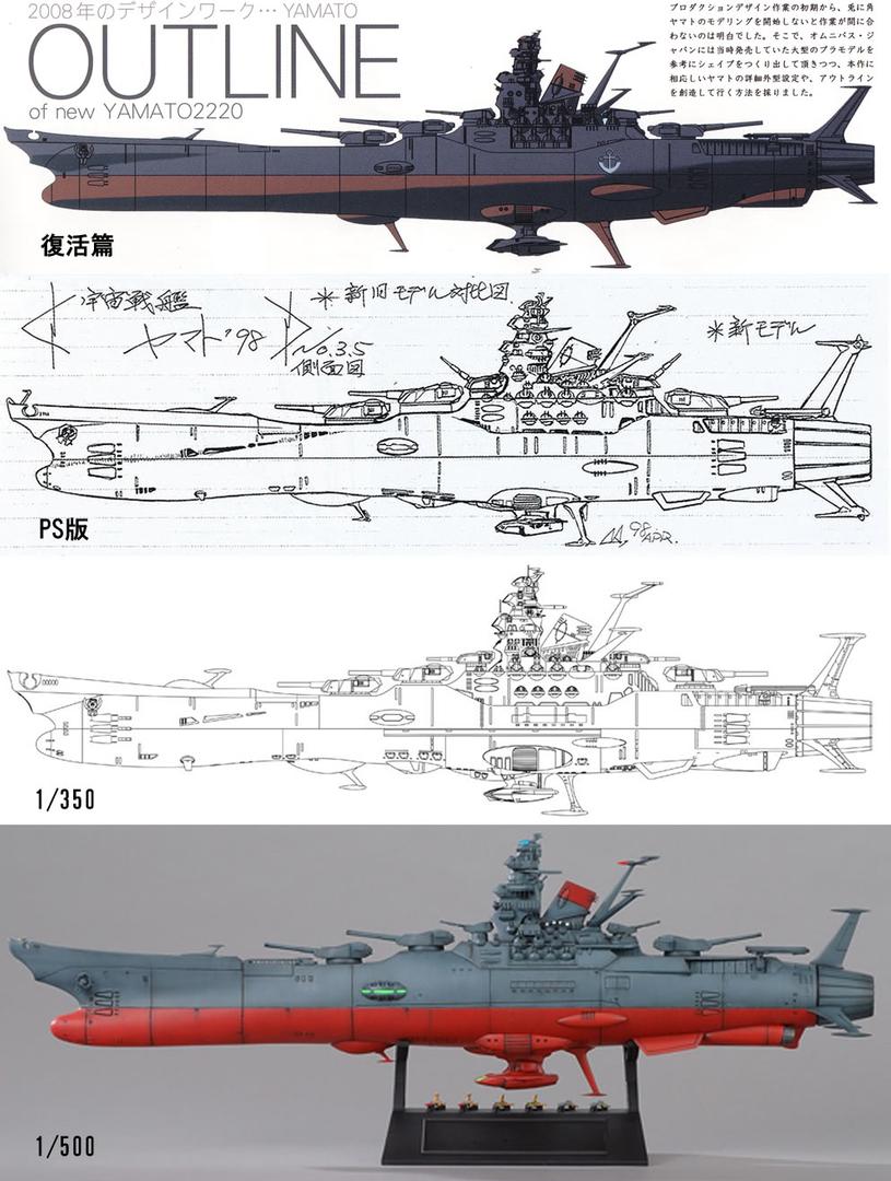 Encouraçado Espacial Yamato 1291614706233-1